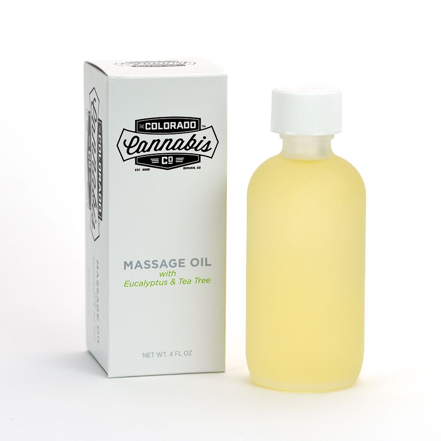 CBD Massage Oil - Colorado Cannabis Company